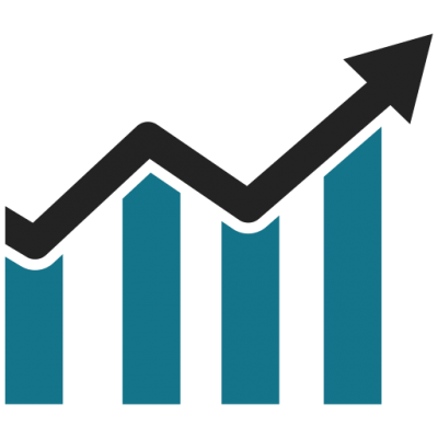 Graph clipart buisness. Download business growth chart
