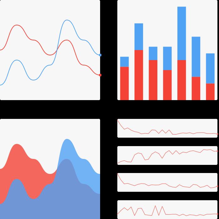 Chart the most powerful. Graph clipart data sheet
