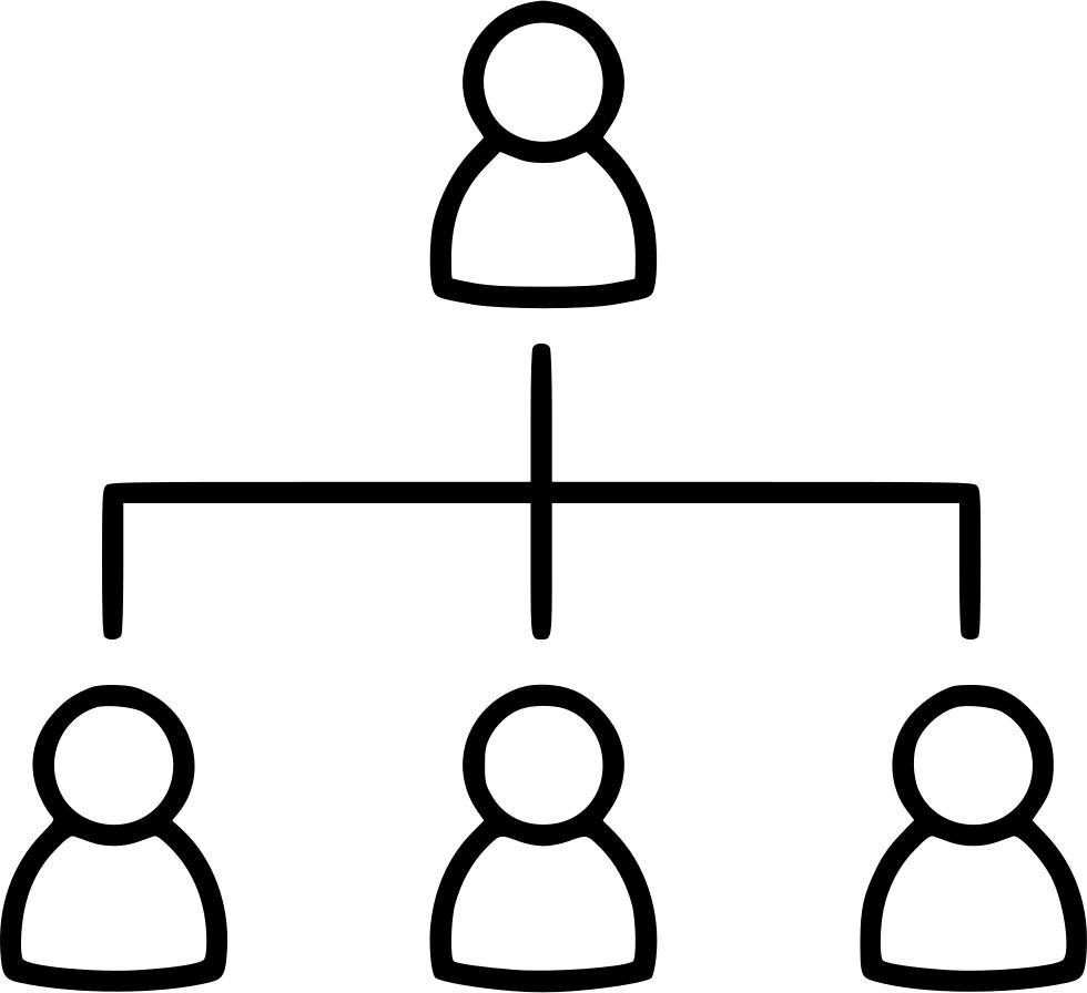 Graph clipart diagram. Network organization chart ranking
