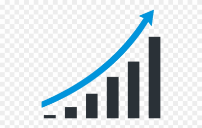Png and vectors for. Graph clipart growth graph