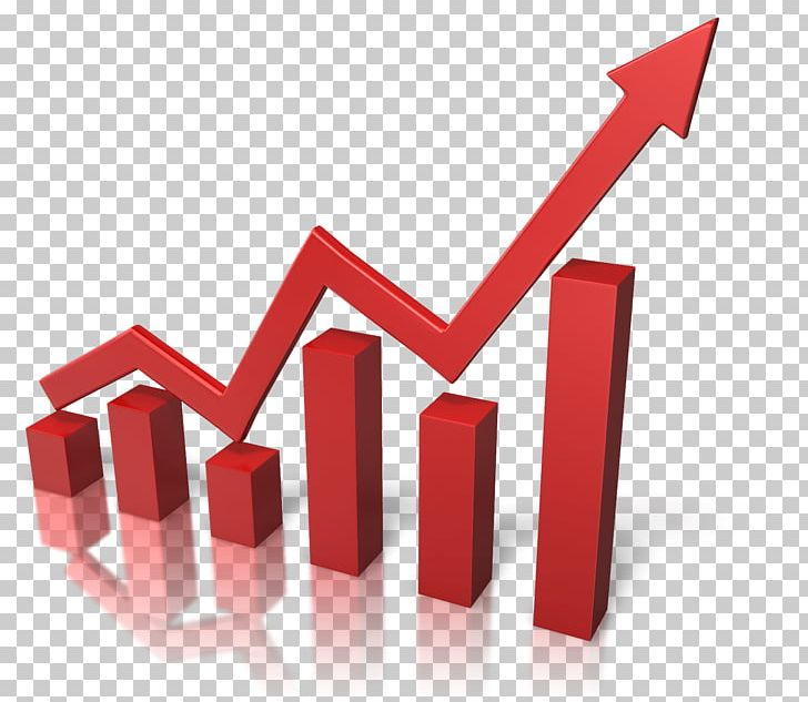 Graph clipart growth graph. Red png miscellaneous symbols