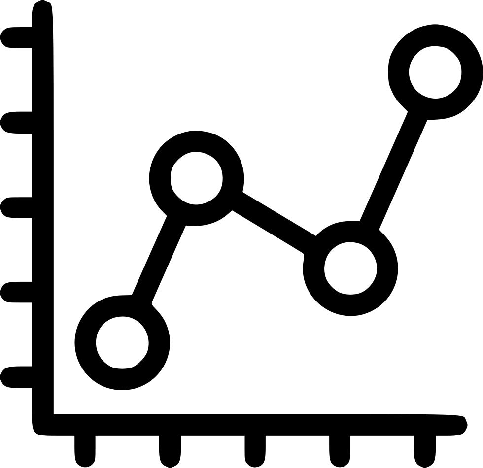Graph clipart line graph. Dot sale report svg