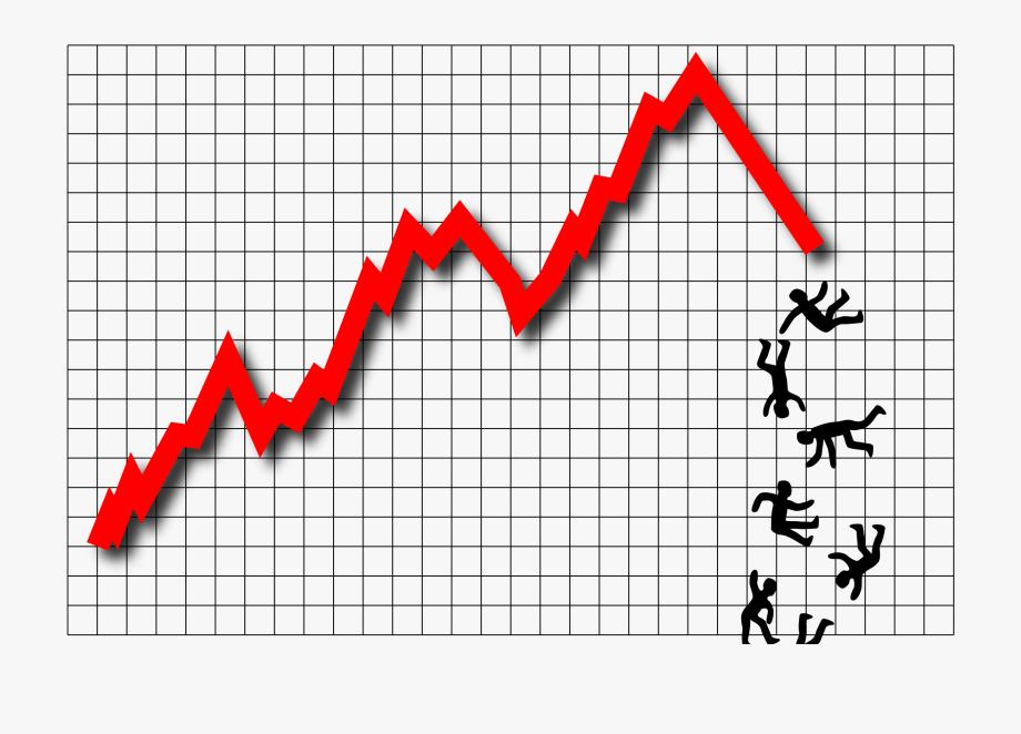 Graph clipart red line. Graphic stock market clip