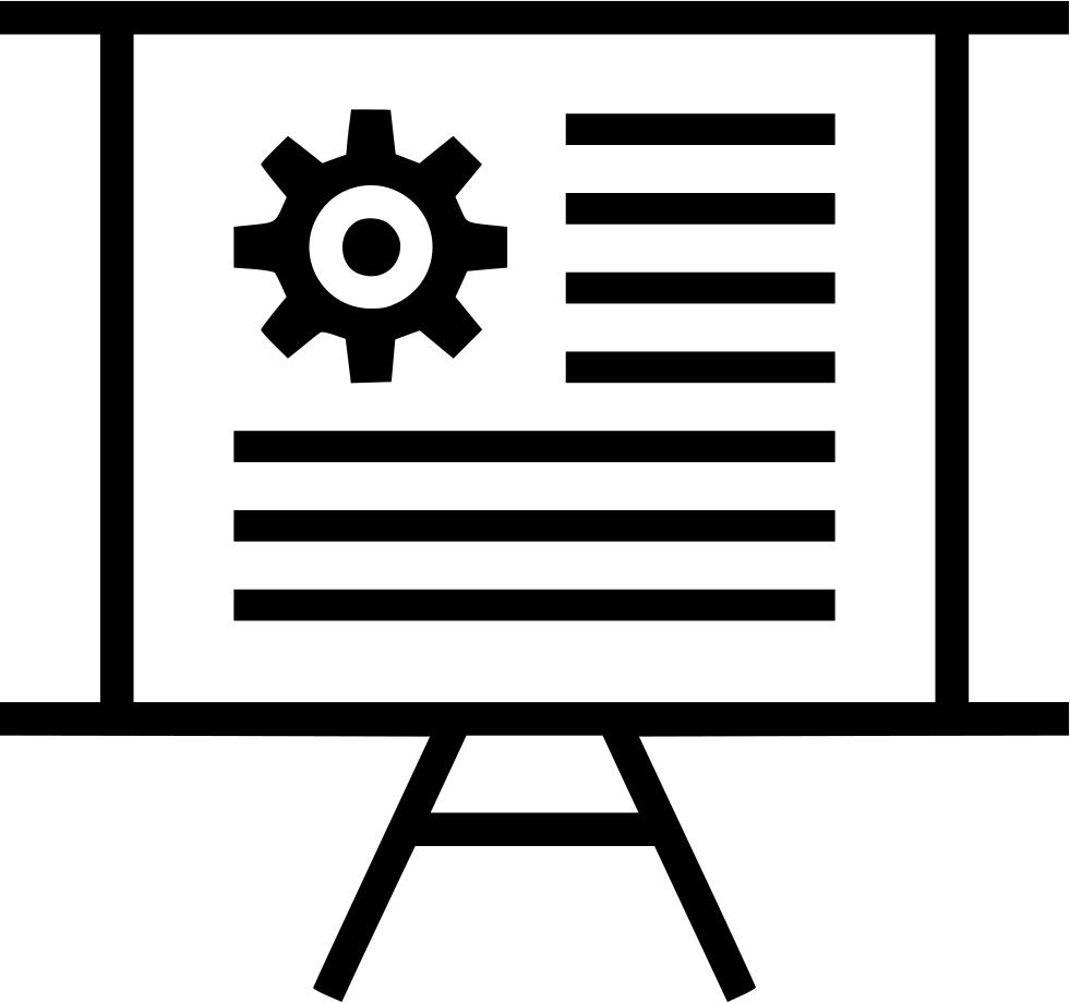 Graph clipart revenue. Gear presentation chart board