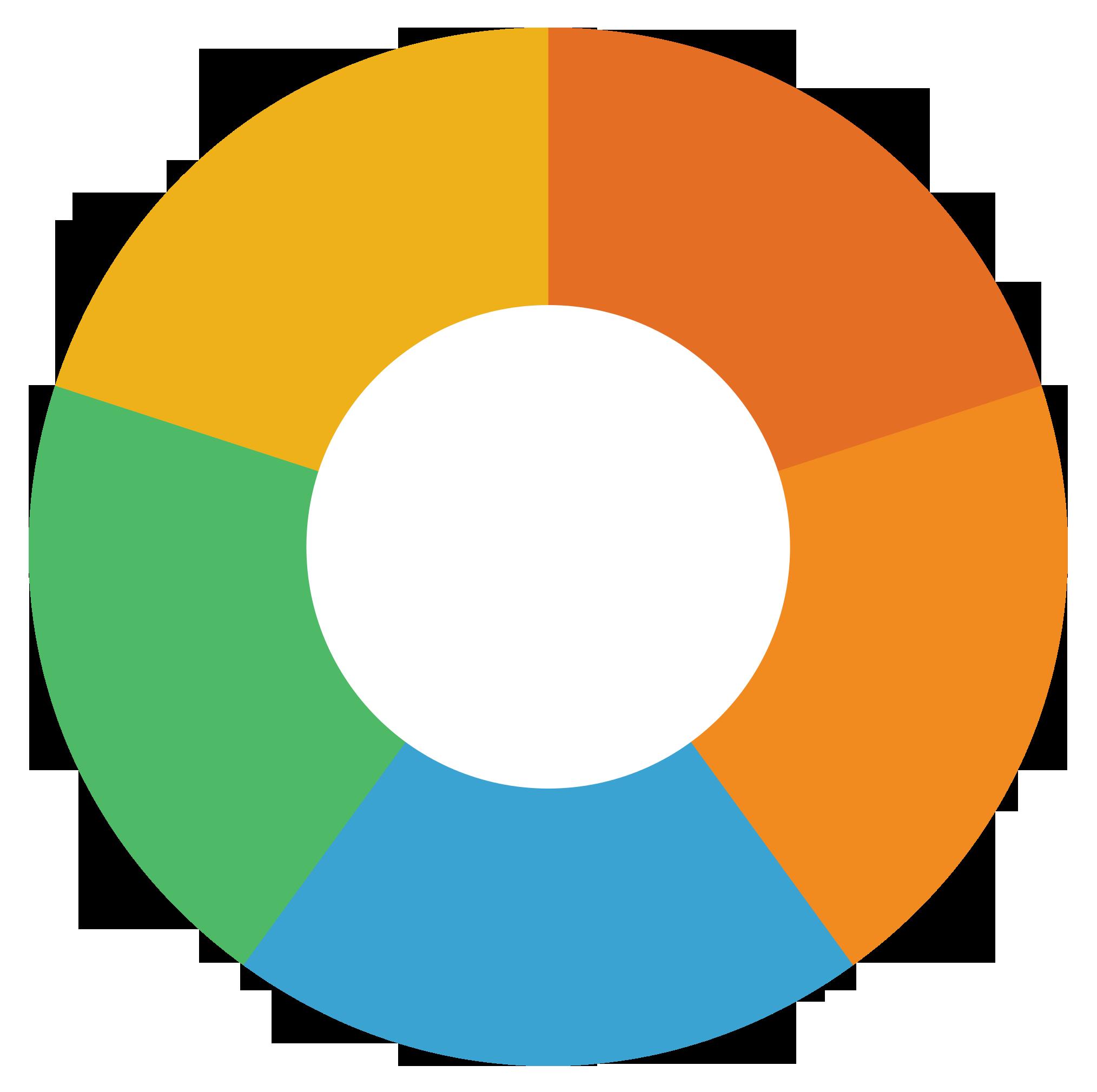 Pie chart png image. Graph clipart transparent