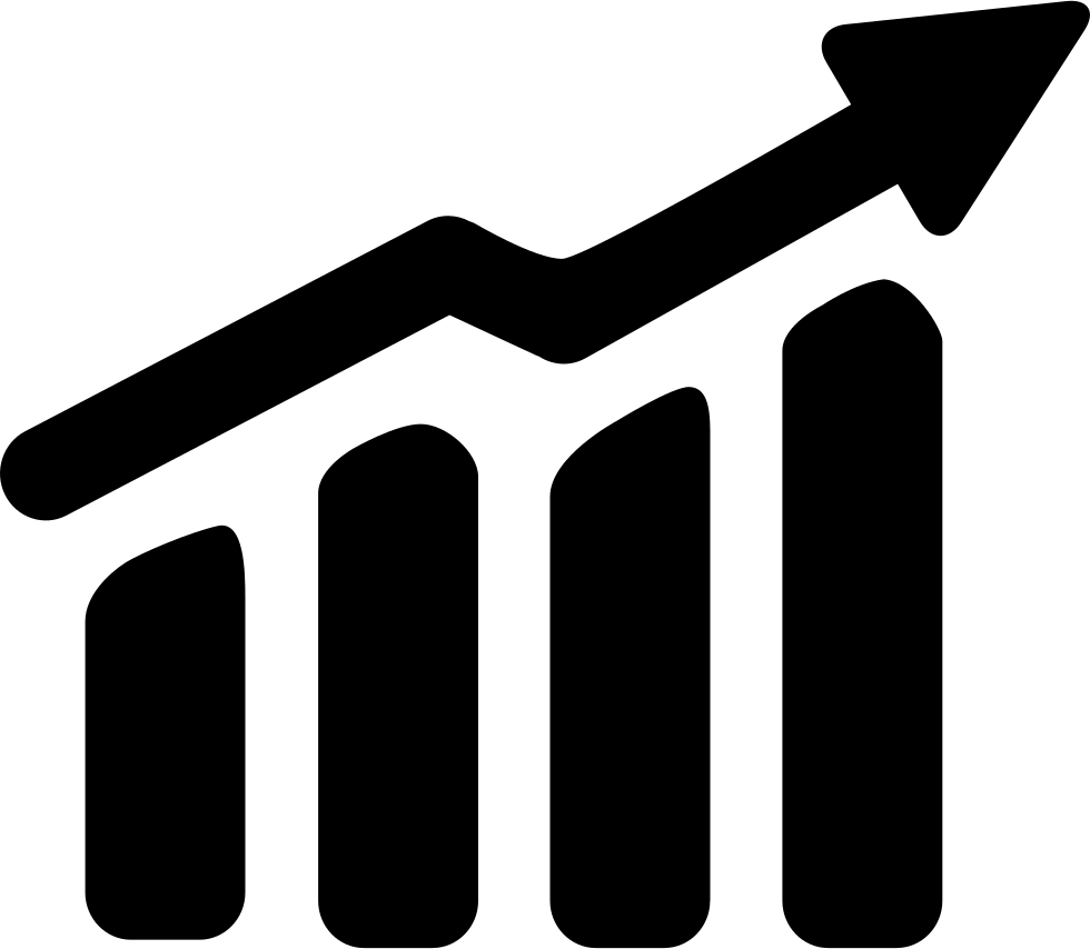Oc ca financial services. Graph clipart upward