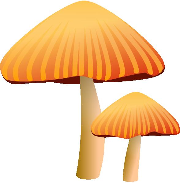 Fungus text images music. Mushroom clipart animation