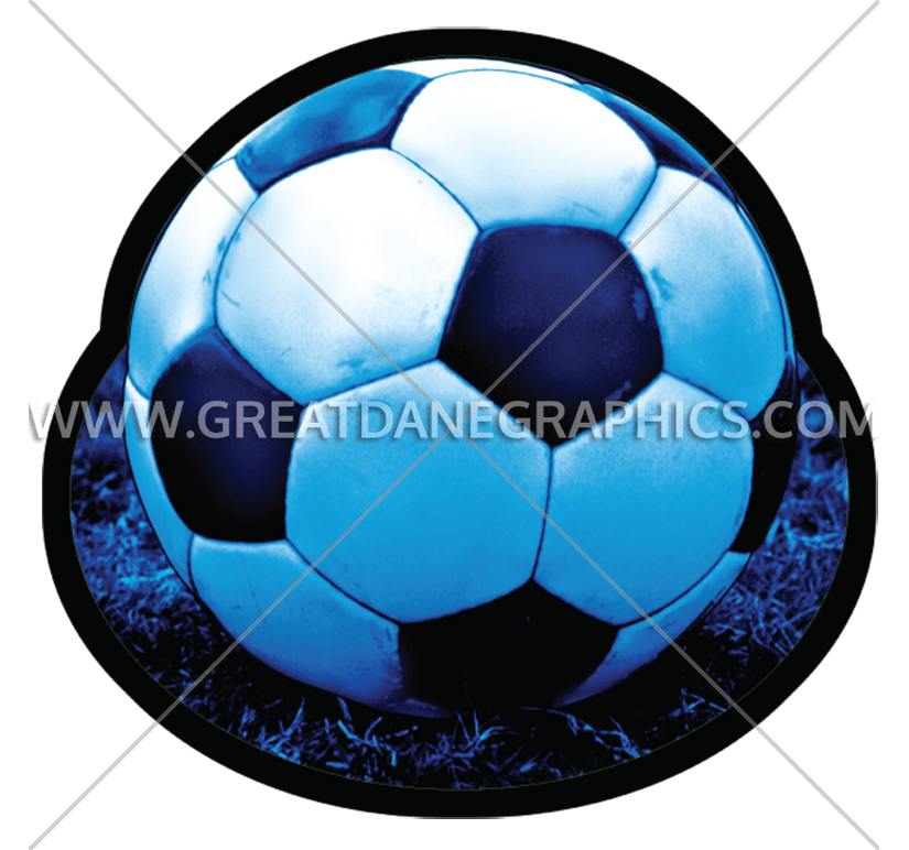 Production ready artwork for. Grass clipart soccer ball