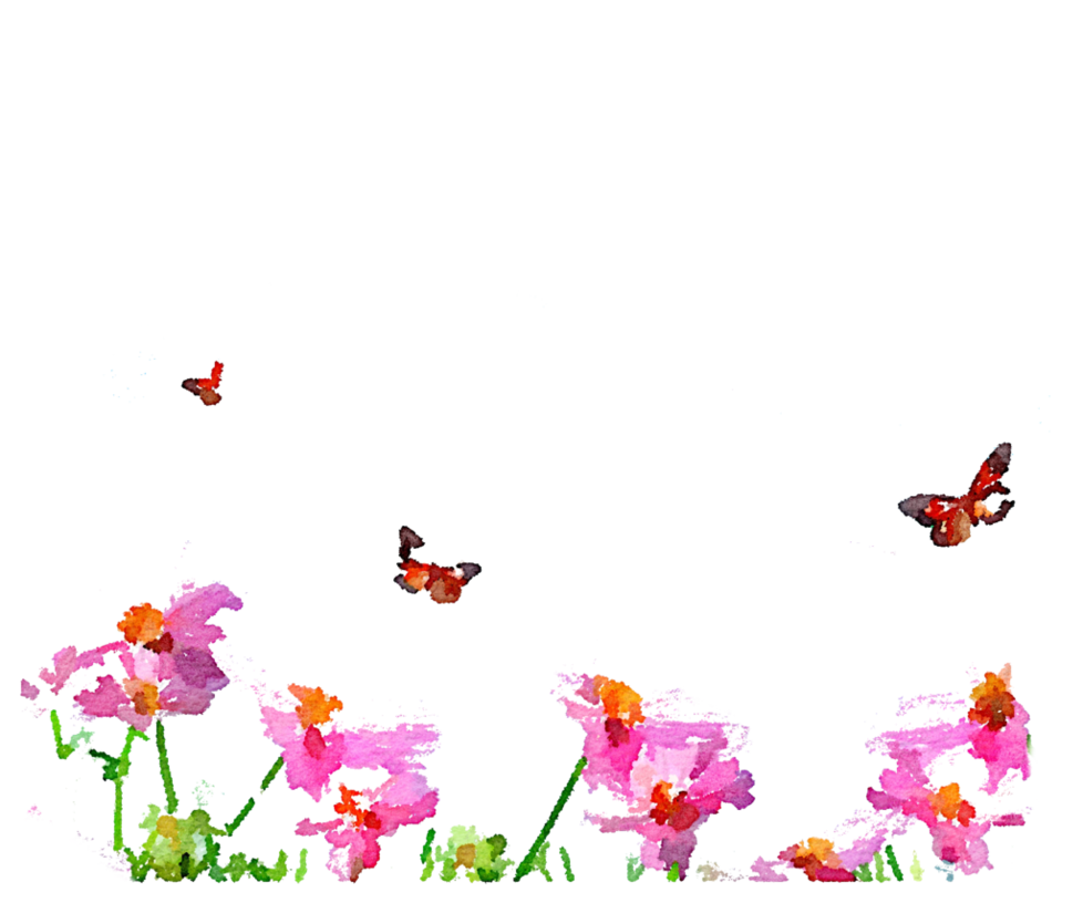 Free png butterflies by. Grass clipart watercolor