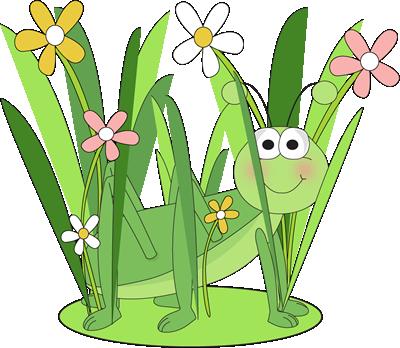Grasshopper clipart patch. Long grass clip art