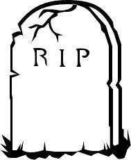 Rip . Grave clipart