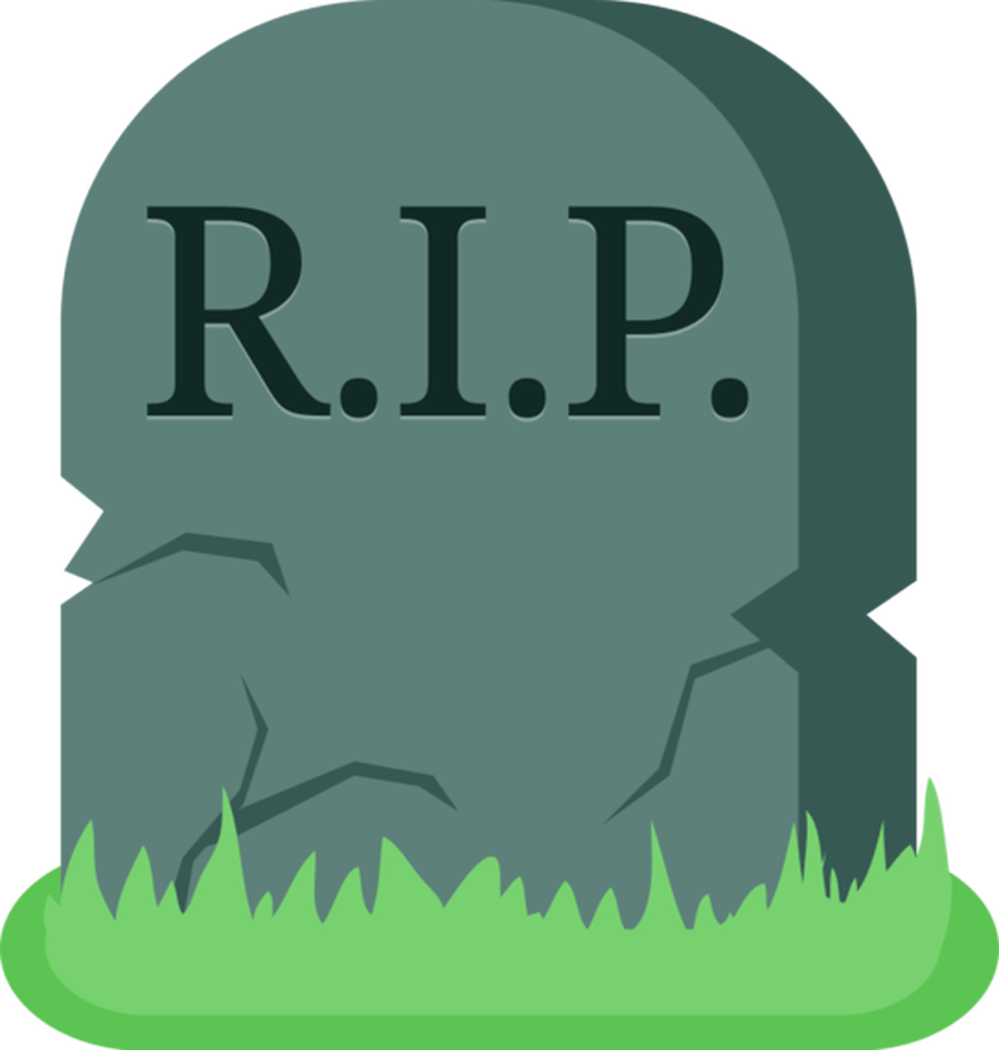 R clipart green. Rip grave transparent png