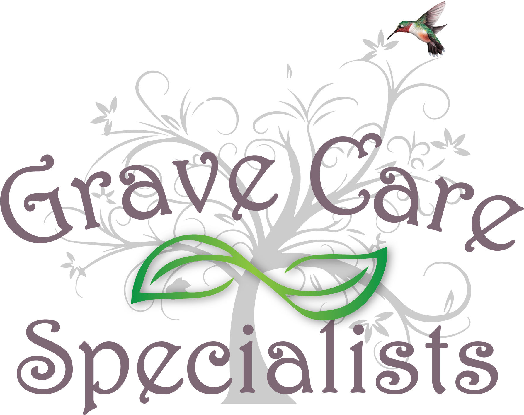 Grave clipart gravesite. Home gravecare specialists logo