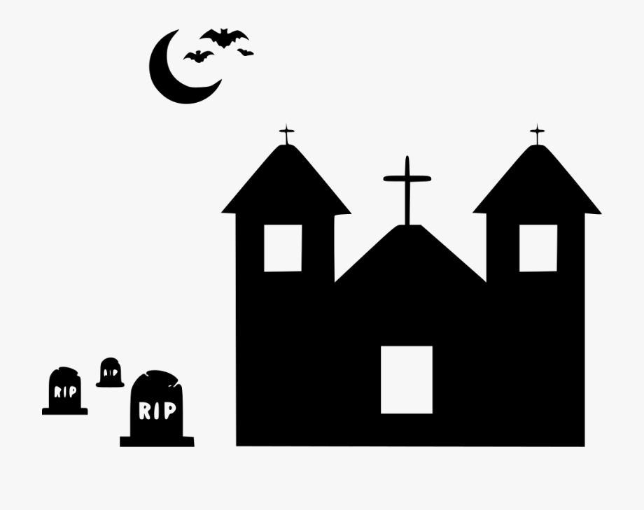 Grave clipart scary. Home house mansion spooky