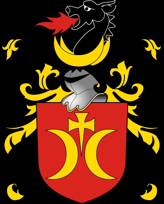 Wing clipart family crest. Clan ostoja wikipedia