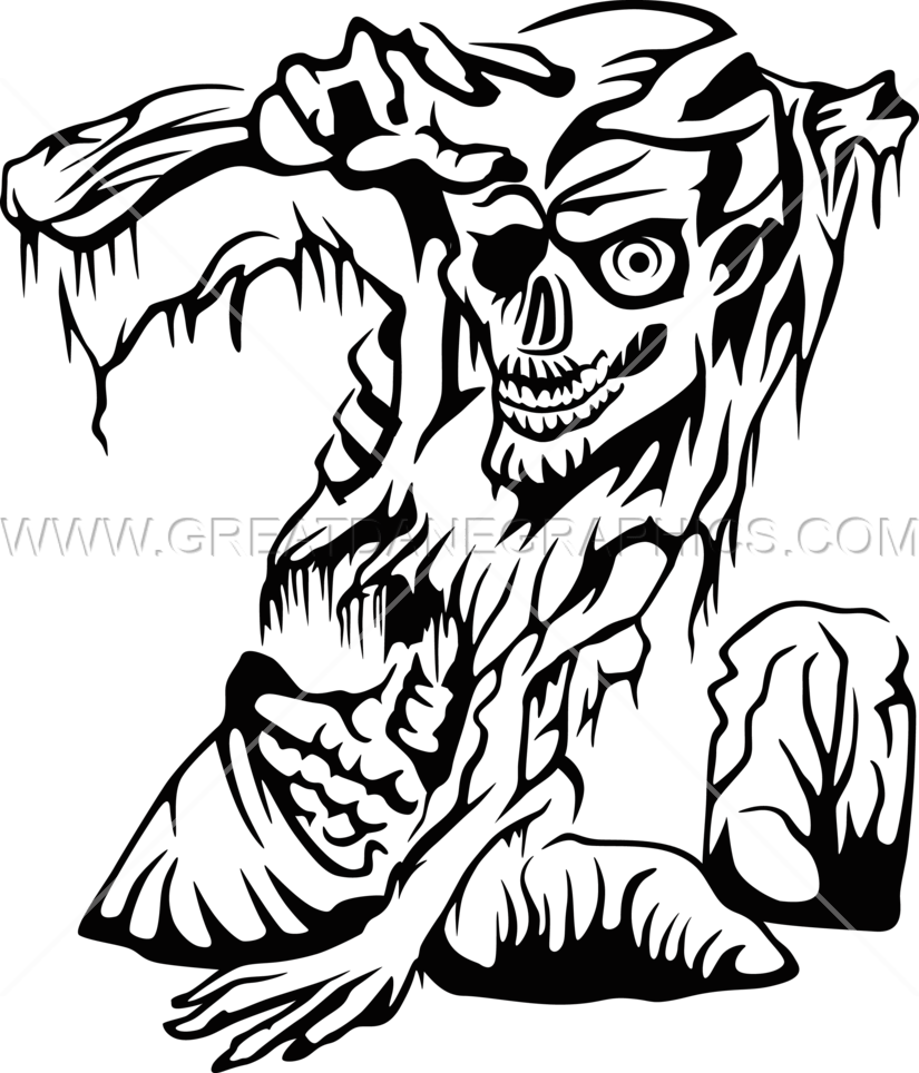 Zombie clipart zombie graveyard. Grave production ready artwork