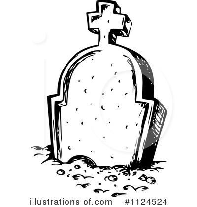 Gravestones tombstone illustration by. Gravestone clipart