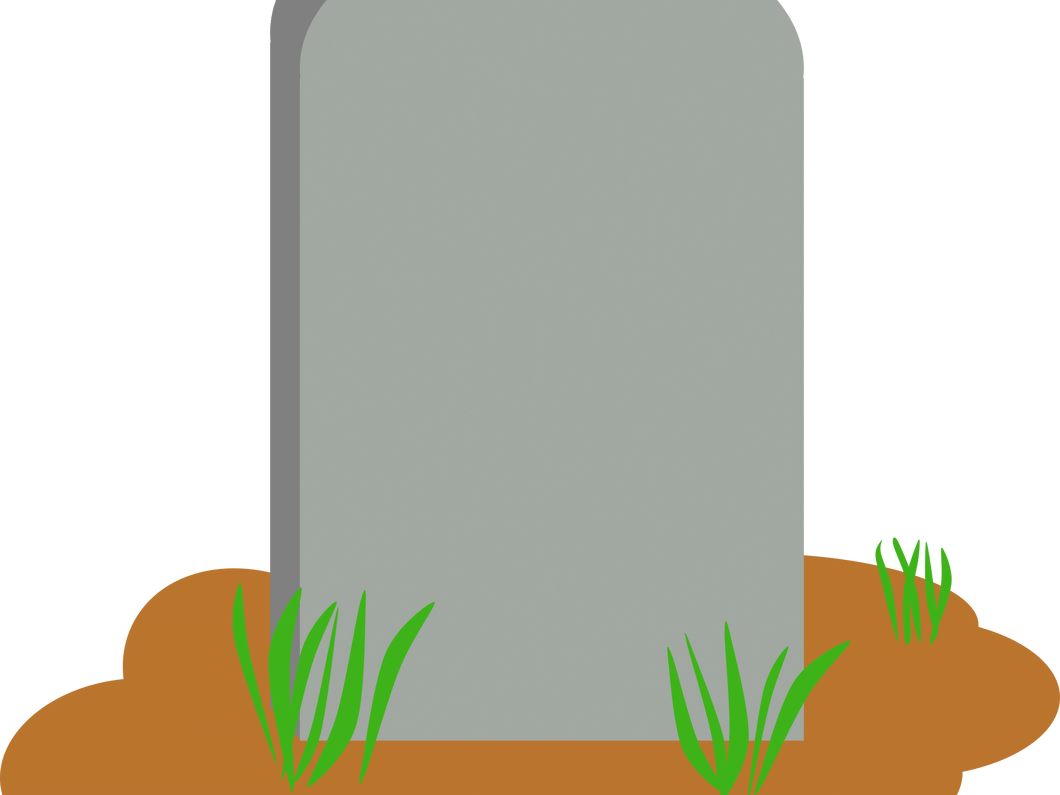 For headstones sumptuous design. Scroll clipart headstone