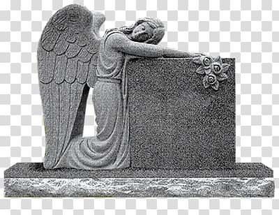 Headstone clipart man angel. Of grief memorial monument