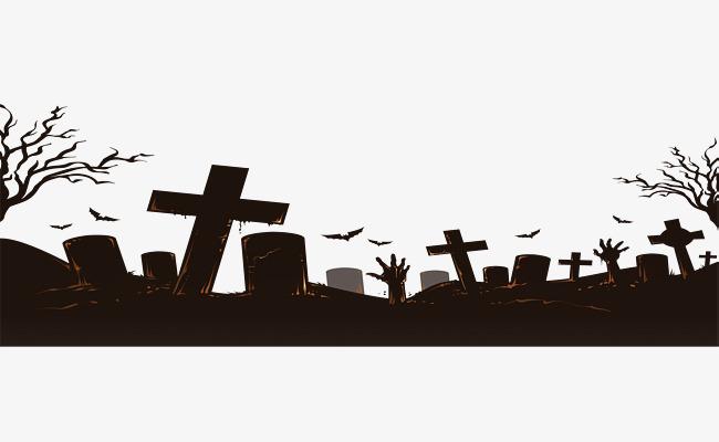 Bat halloween cartoon hand. Graveyard clipart