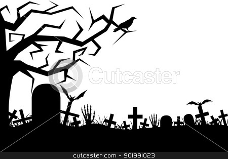 Graveyard clipart. Cemetery clip art free