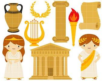 Etsy going greek digital. Greece clipart