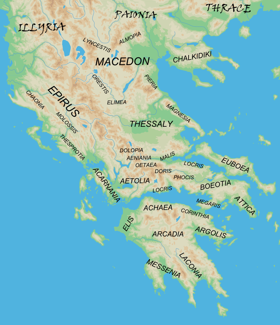 greece clipart ancient geography greece
