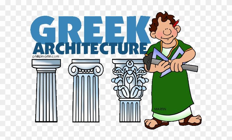 Greece clipart ancient greek architecture. Clip art cartoon png