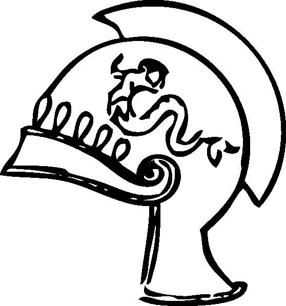 Greek clipart drawing. Helmet clip art at
