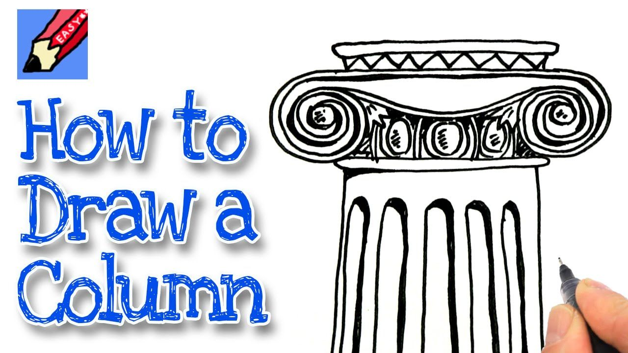 Greece clipart easy. How to draw an