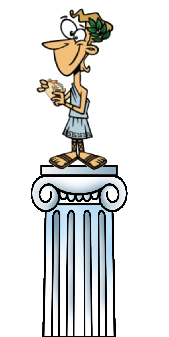 Greece clipart greek guy. The restaurant click here