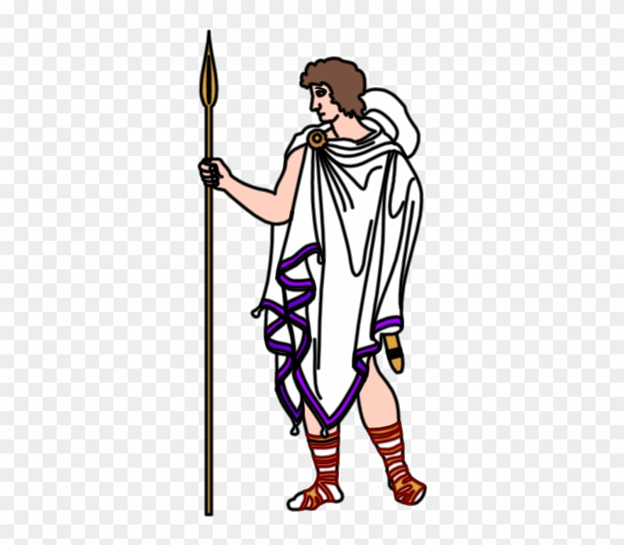 Collection of ancient man. Greece clipart greek guy