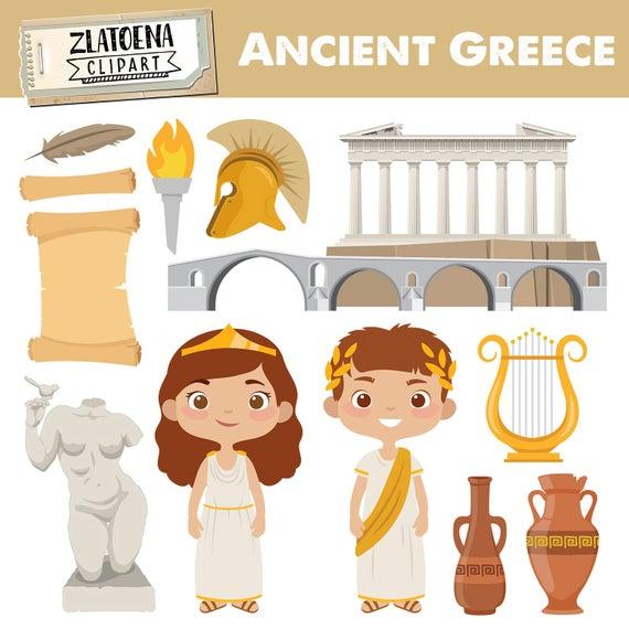 Greece clipart illustration. Clip art ancient travel