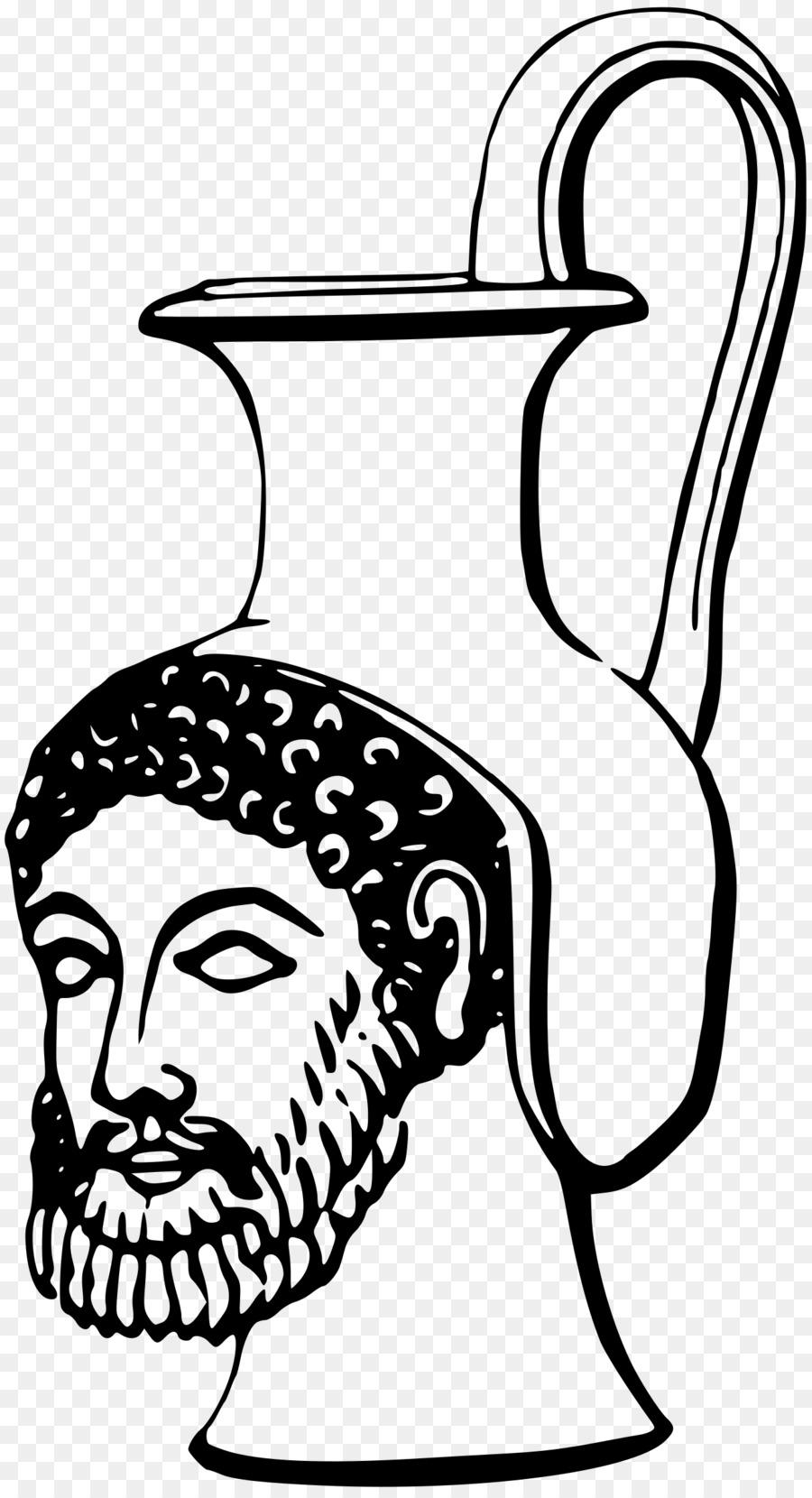 Greece clipart line. Cartoon face head font