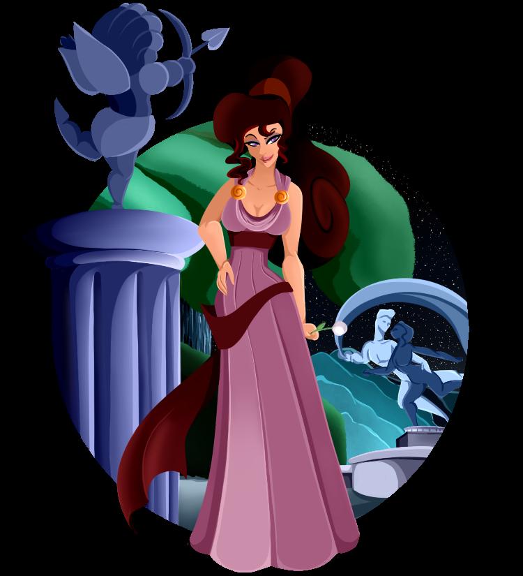 Princess collection disney meg. Greece clipart megara