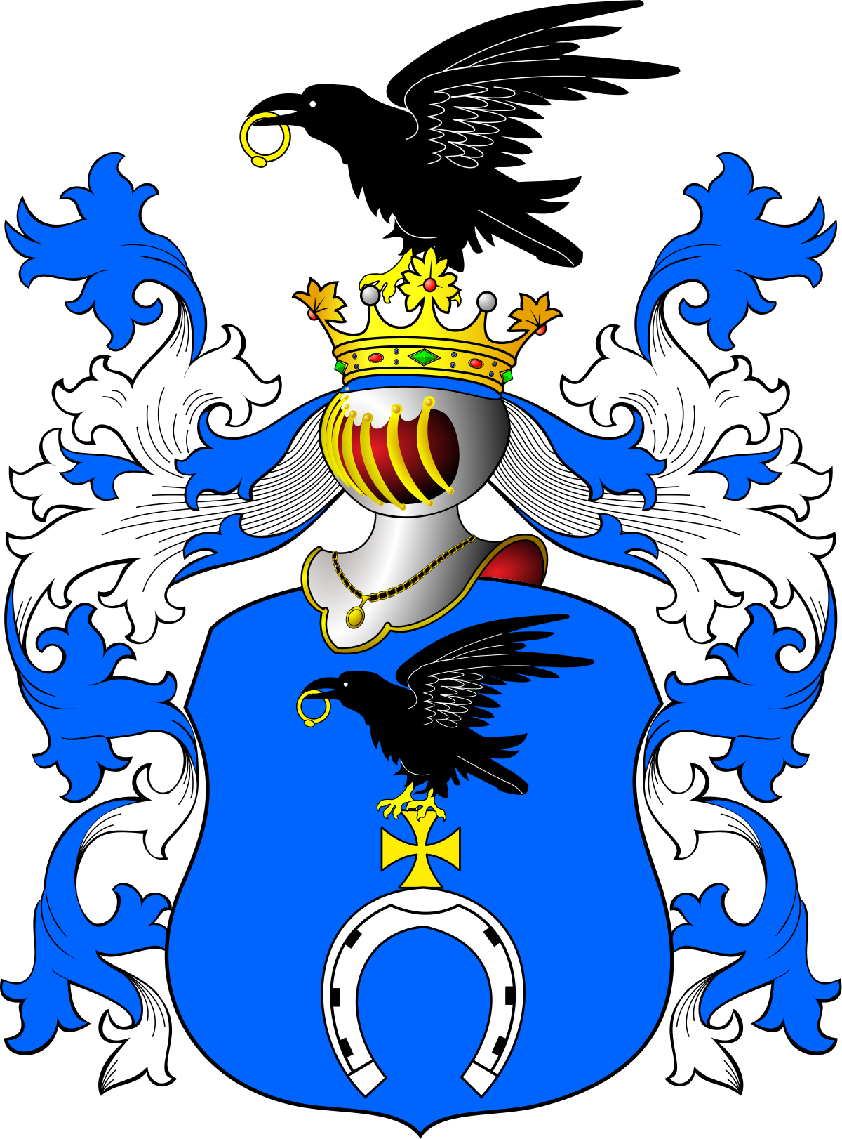 Wing clipart family crest.  lepowron coat of