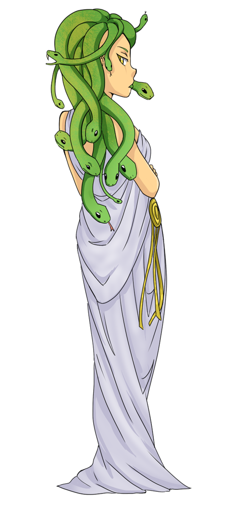 Milk clipart animated. Medusa perseus and the