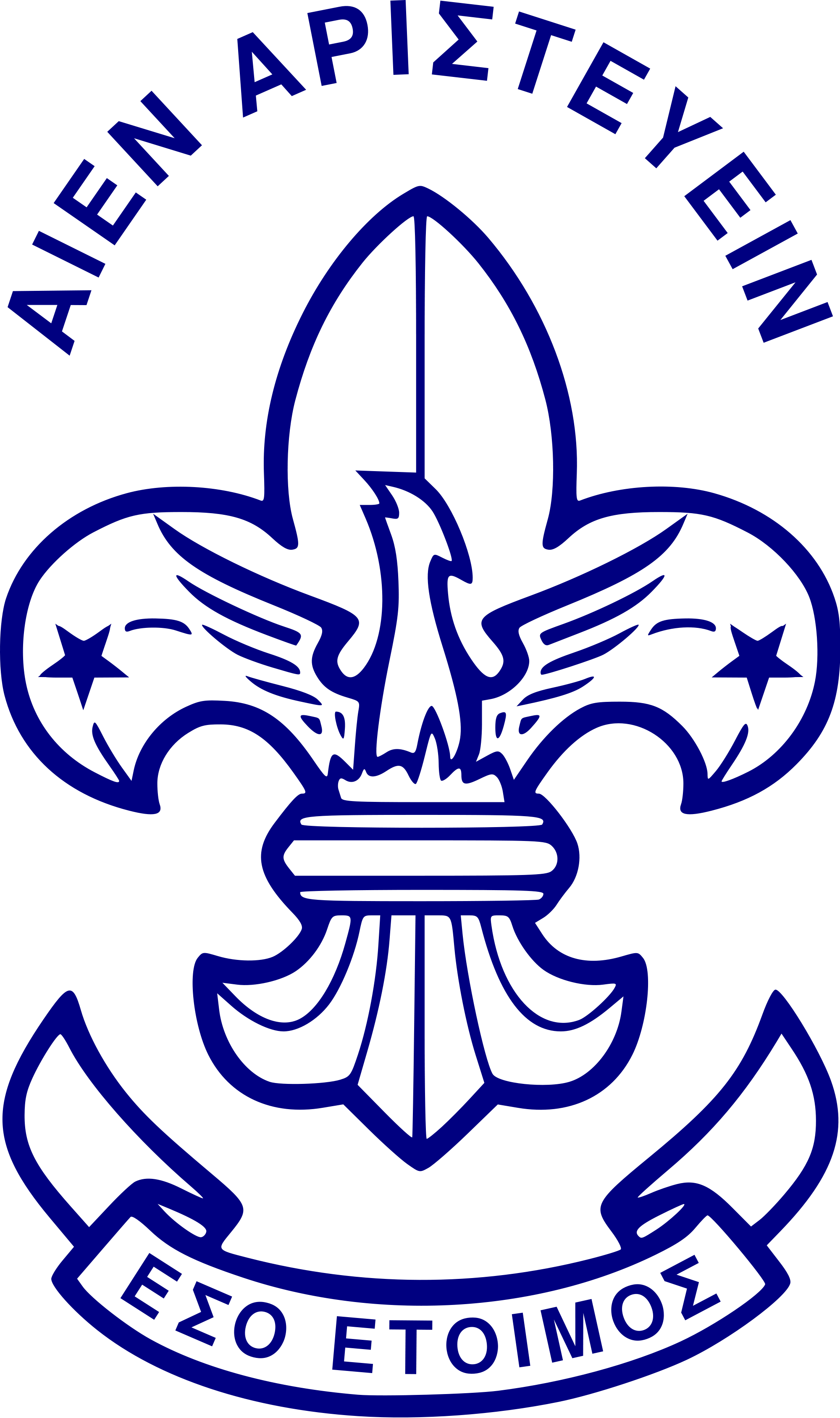 Scouts of greece logos. Knot clipart scouting activity