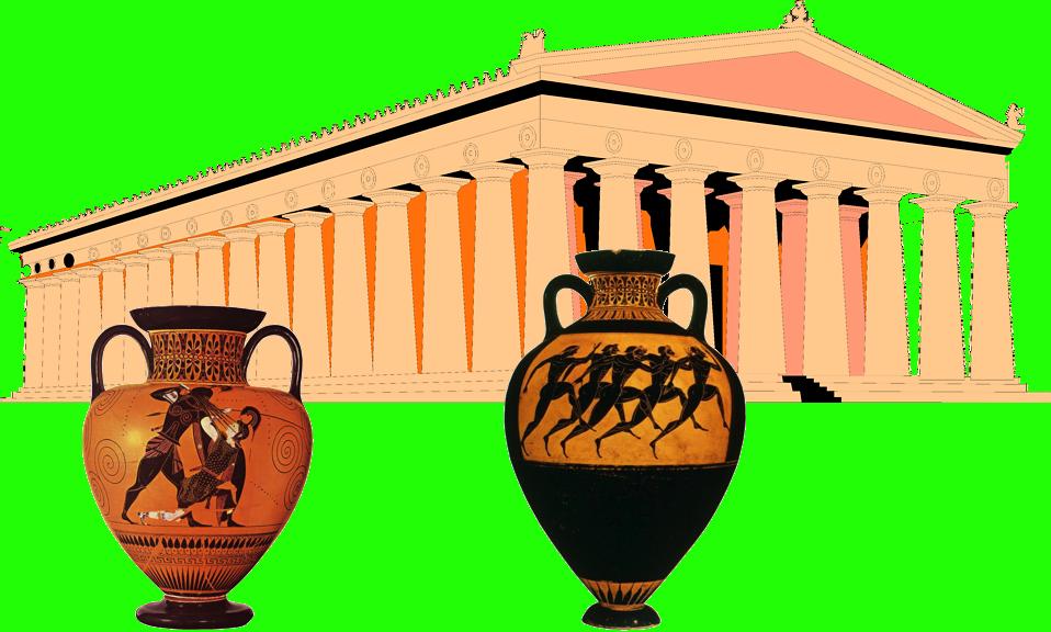 Greek clipart urn greek. Wander and wonder in