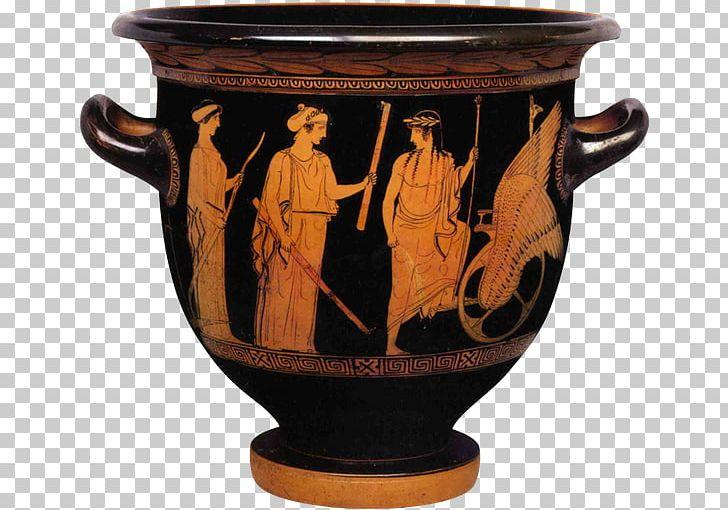 Ancient vase geometric art. Greece clipart urn greek