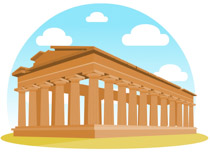 Greek clipart ancient town. Free greece clip art