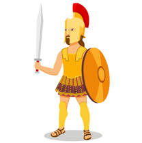 Greek clipart. Free ancient greece clip