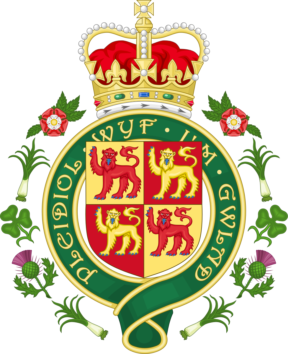 Royal badge of wales. Greek clipart aristocracy