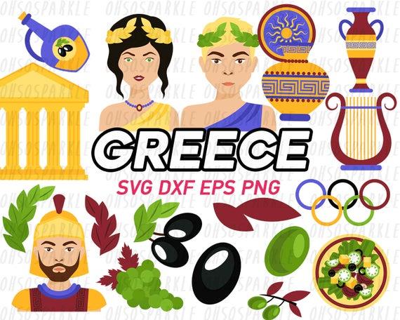 Greece eps svg png. Greek clipart clip art