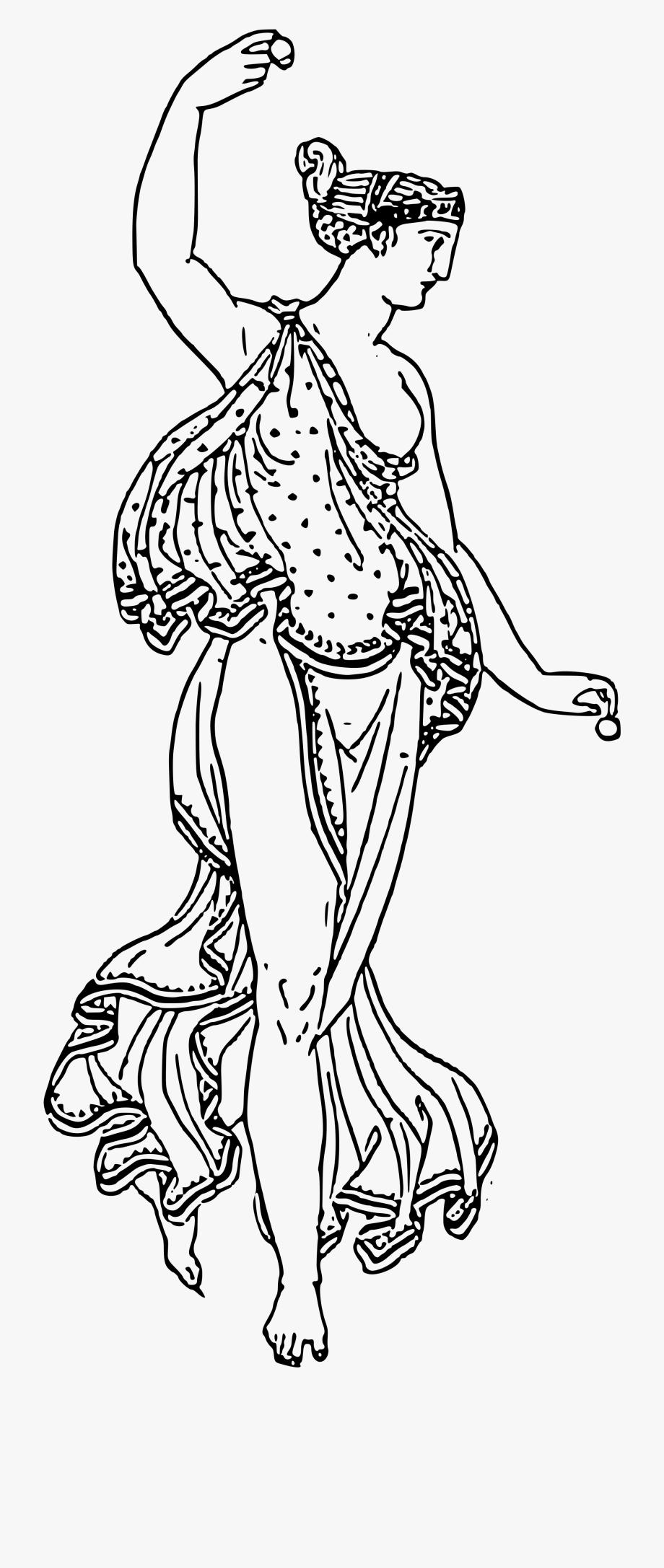 Greek clipart dancer greek. Transparent black and white