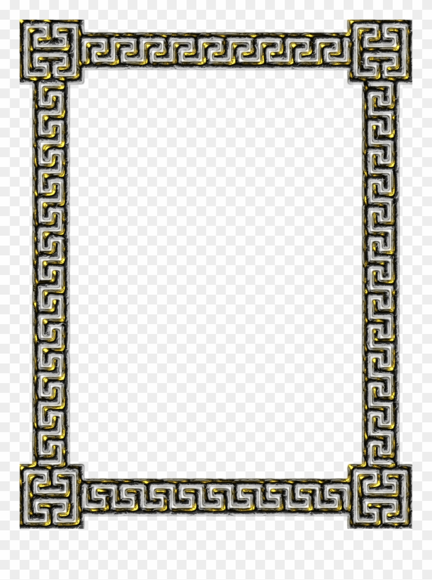 Download frame meander picture. Greek clipart greek key