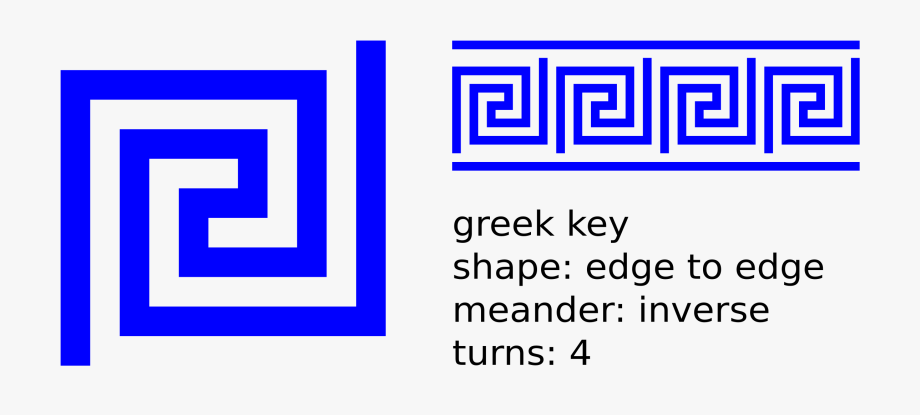Clip art symbol for. Greek clipart greek key