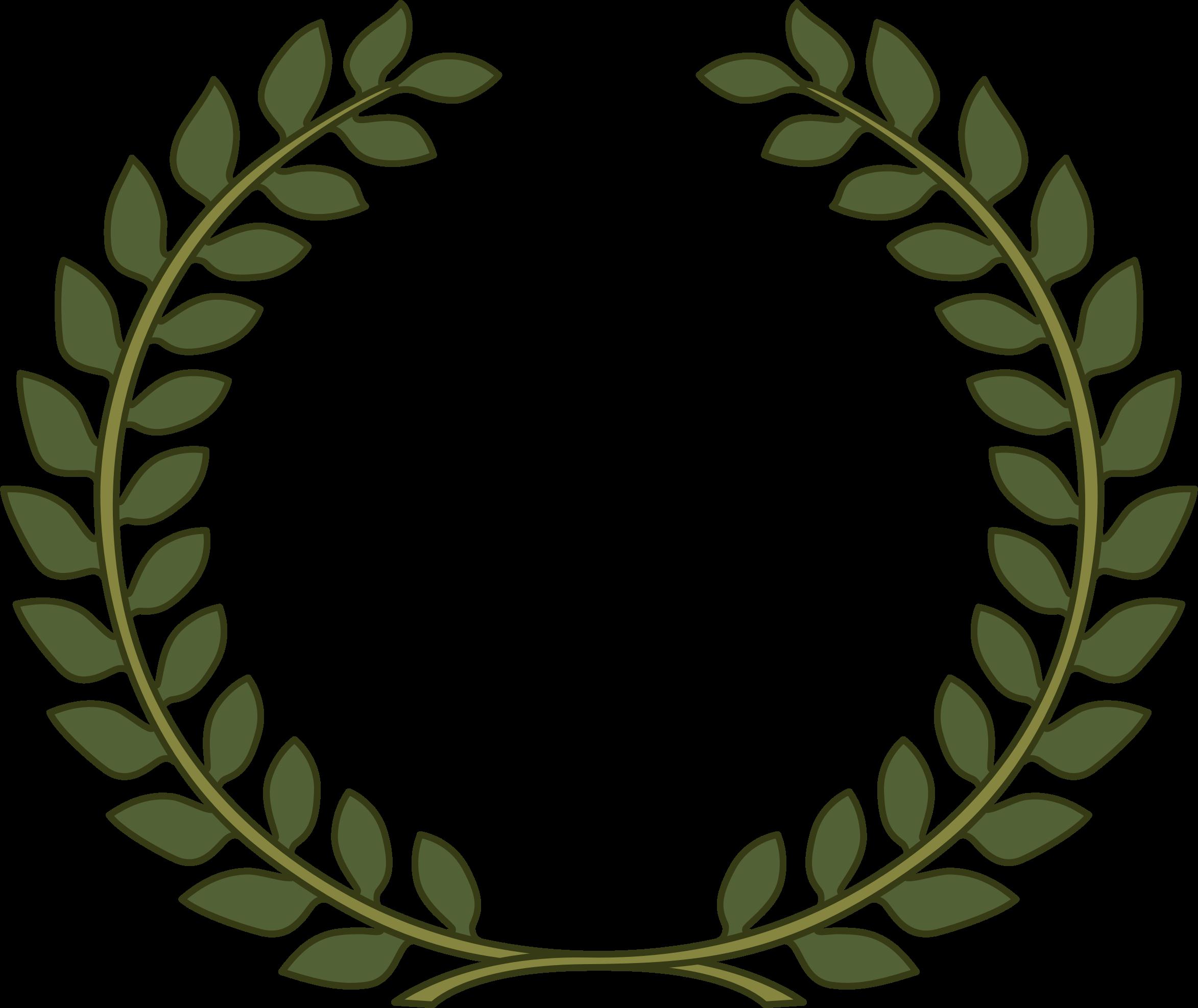 laurel clipart pretty leaf