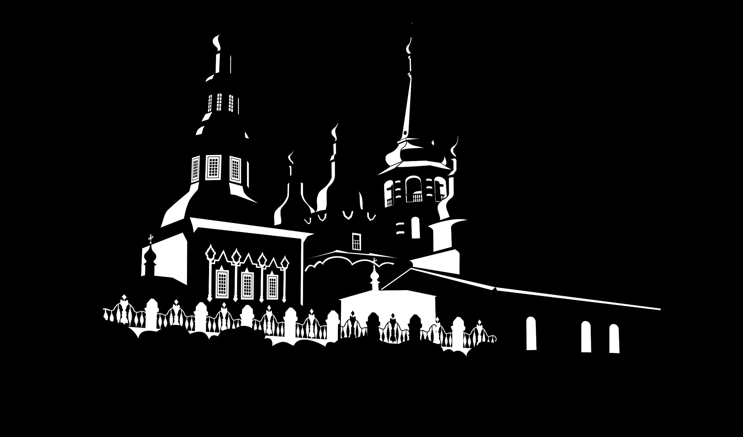 Greek clipart landmark. Orthodox chirch in irkutsk