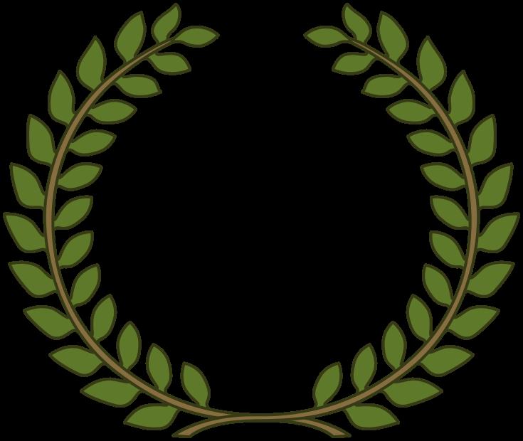 Greek clipart laurel wreath. Award leaves png olivero